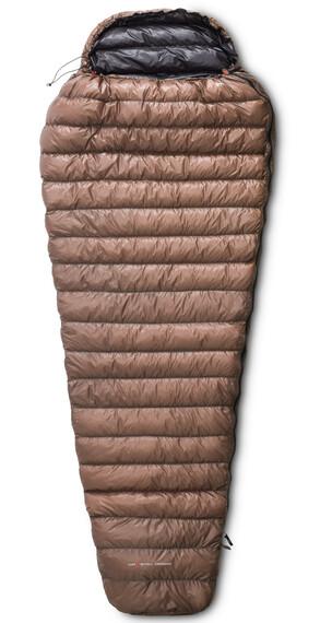 Yeti Passion One Sleeping Bag XL brown/black